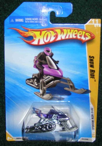 HOT WHEELS 2010 NEW MODELS 11 OF 44 PURPLE SNOW RIDE