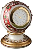 Aapno Rajasthan Pure White Marble Multicolor Stone Work One Piece Watch (7.62 cm x 5.08 cm)