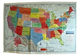 United States Wall Map US USA Poster Size 40