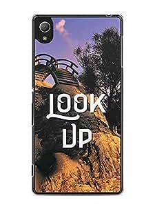 YuBingo Look Up Designer Mobile Case Back Cover for Sony Xperia Z4