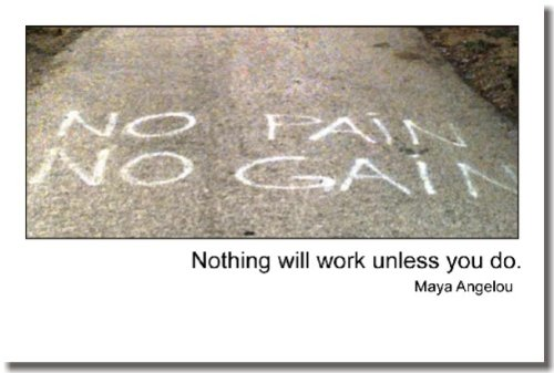 """Nothing Will Work Unless"