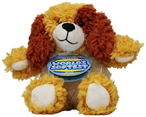 "Beverly Hills Teddy Bear Company Patches Puppy 8"" Plush"
