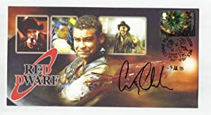 RED DWARF COLLECTABLE COVER SIGNED CRAIG CHARLES (LISTER)