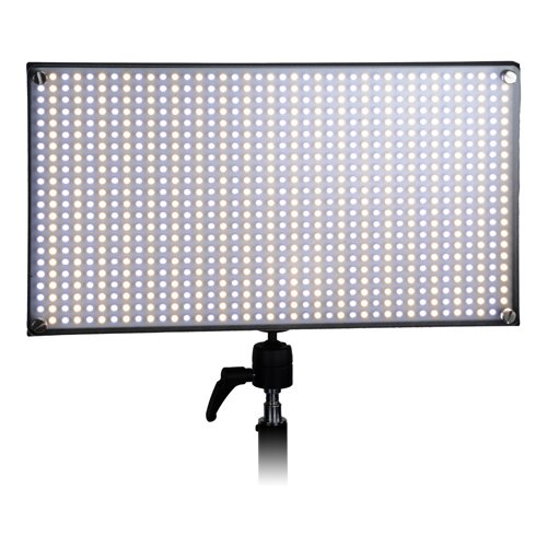 Fotodiox Pro Led 876As, Still / Video Photography Studio Led Light Kit, With Dimmable Switch, Bi-Color Control, Removable Diffusion Panel