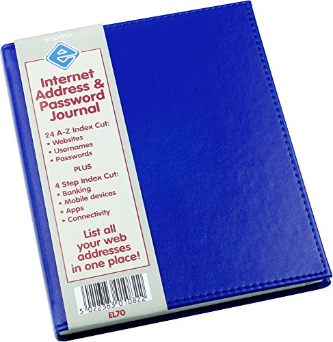 personal-internet-address-password-journal-logbook-organiser-blue-145mm-x-178mm