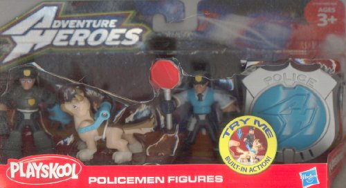 Playskool Adventure Heroes Policemen Figures MULTI - 1