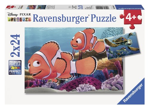 Ravensburger Disney Pixar: Nemo's Adventure (2 x 24-Piece) Puzzles in a Box