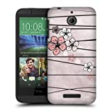 Head Case Designs Paper Cherry Blossoms Protective Snap-on Hard Back Case Cover for HTC Desire 510