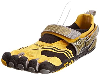 Vibram FiveFingers Men's KMD Sport (Yellow/Black/Silver/Grey, 46)