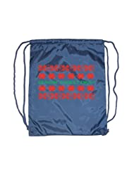 Festive Threads Greetings Christmas Drawstring