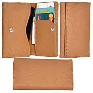 R&A Pu Leather High Quality Wallet Pouch Case Cover With Card Slot & Note Slots,Soft Inner Velvet For LG G3 Stylus