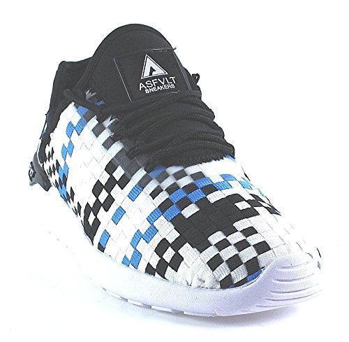 Asfvlt, Sneaker donna Bianco bianco, Bianco (bianco), 46 eu