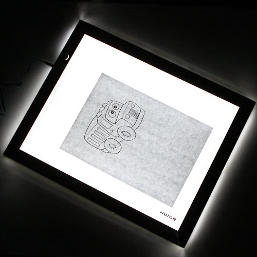 Tracing Board Thin A3 Led Animation Drawing Table Art Tattoo Pad 41.5 * 32Cm