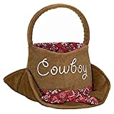 Easter Basket Western Cowboy Hat with Bandana