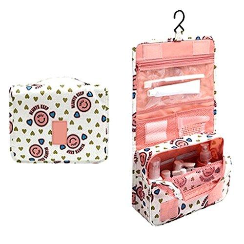 travel-bag-set-cosmetic-make-up-storage-bag-organizer-folding-bag-large-capacity-pink