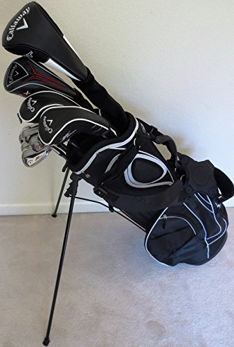 Callaway Mens RH Complete Golf Set Regular Flex Graphite