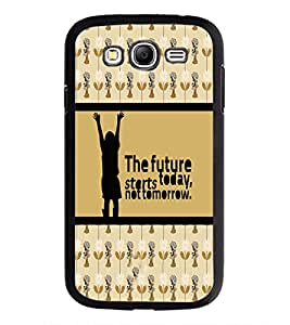 PrintDhaba Quote D-4271 Back Case Cover for SAMSUNG GALAXY GRAND I9082 (Multi-Coloured)