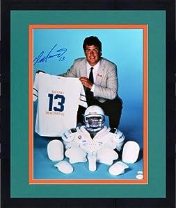 Framed Signed Dan Marino Miami Dolphins Photo - 16x20 Witness - JSA Certified -... by Sports Memorabilia