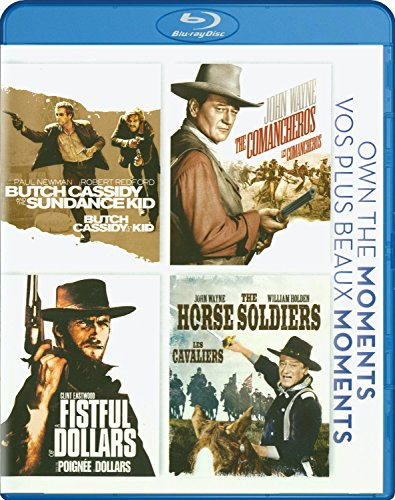 Butch Cassidy and the Sundance Kid / Ten Comancheros / Fistful of Dollars / The Horse Soldiers  (4 Movie Collection) [Blu-ray]