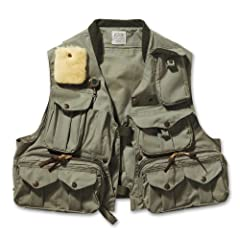 Filson Fly Fish Guide Vest - Green by Filson