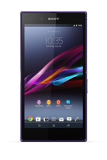 Sony Xperia Z Ultra Smartphone débloqué (Ecran: 6.4 pouces - 16 Go) Violet (import Italie)
