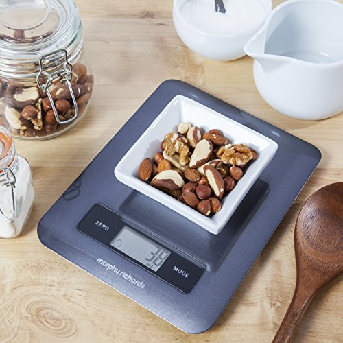 Electronic Kitchen Scale Black