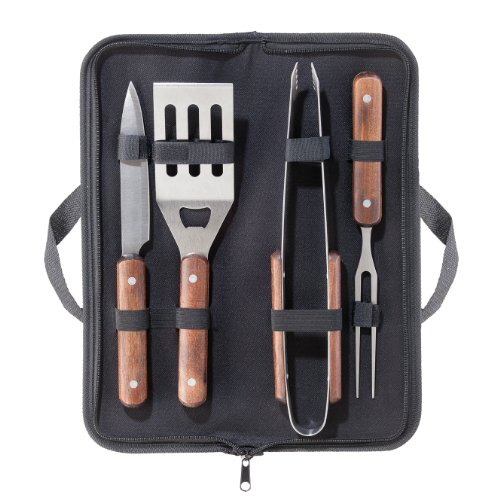 Oggi 5-Piece Barbeque Set With Carry Case
