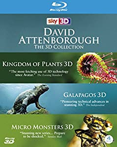 David Attenborough: The 3D Collection [Blu-ray] from Go Entertain