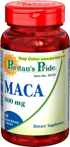 Puritan Pride Maca 500 mg / 60 Rapid Release