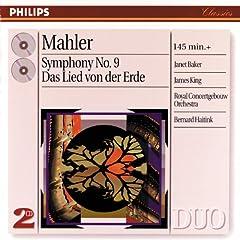 Mahler: Symphony No.9 in D - -Presto