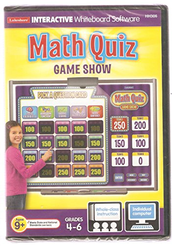 Math Quiz Game Show (Grades 4-6) - 1