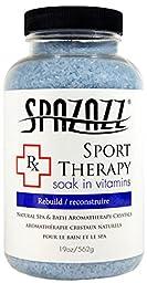 Spazazz SPZ-607 RX Sport Therapy Rebuild Crystals Container, 19 oz.