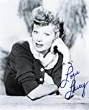 Lucille Ball Signed Autographed 8 X 10 Reprint Photo - Mint Condition