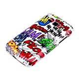 DeinPhone Hard Shell Protective Mobile Phone Case for Samsung Galaxy Ace 3 in Comic Boom Design