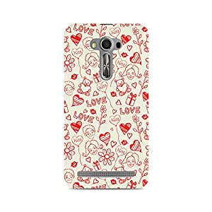 Ebby Love, Kiss and Gifts Premium Printed Case For Asus Zenfone 2 Laser ZE550KL