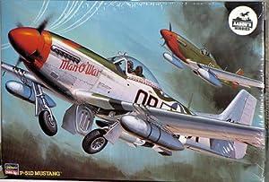"Hasegawa 1/32 P-51D Mustang Man O' War"" """