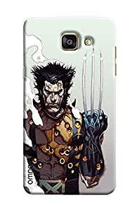 Omnam Wolvrine In Pose Printed Designer Back Cover Case For Samsung Galaxy A5 2016