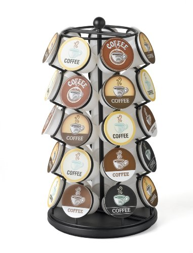 K-Cup Carousel - Holds 35 K-Cups in Black (Coffee Keurig Storage compare prices)