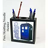 Tardis Pen Cup, Doctor Who Desk Accessories pencil box cup accessory