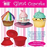 Giant Cupcake Mould / Big Top Cupcake Bake Set / Bakingby PRIME FURNISHING