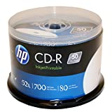 52X Write-once CD-r Spindle with Ink Jet Printable Surface