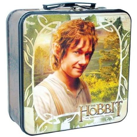 Lord of The Rings Bilbo Baggins Smiling Multi-Colored Tin tote