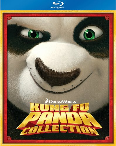 Kung Fu Panda Two-Disc Blu-ray Boxed Set (Kung Fu Panda / Kung Fu Panda 2 / Secrets of the Masters)
