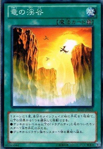 【 遊戯王】 竜の渓谷 ノーマル《 青眼龍轟臨 》 sd25-jp023