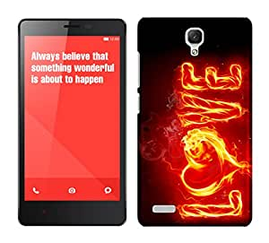 WOW Printed Designer Mobile Case Back Cover For XIAOMI MI REDMI NOTE / NOTE 4G / NOTE PRIME