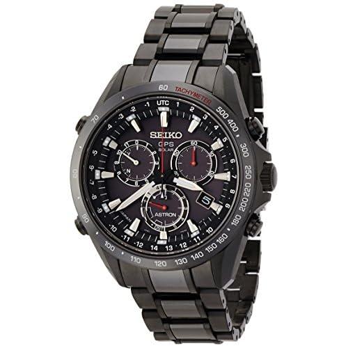[アストロン]ASTRON 腕時計 ソーラーGPS衛星電波修正 サファイアガラス  スーパークリア コーティング  日常生活用強化防水(10気圧) SBXB031 メンズ