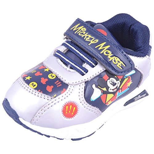 Disney Disney Kids Unisex Mickey Mouse Shoe (Blue)