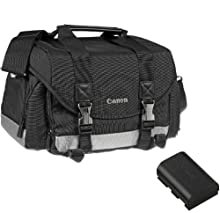 Canon Accessory Kit - 200DG Gadget Bag + LP-E6 Battery