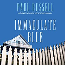 Immaculate Blue Audiobook by Paul Russell Narrated by Charles Leggett