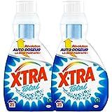 Xtra Total Lessive Liquide Concentré avec Auto Doseur 850 ml / 25 Lavages - Lot de 2